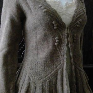 Lovely Anthropologie Wool sweater small